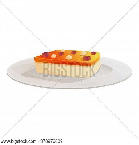 Cake Food Molecular Cuisine Icon. Cartoon Of Cake Food Molecular Cuisine Vector Icon For Web Design