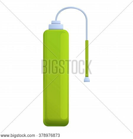 Gas Plant Fertilizer Icon. Cartoon Of Gas Plant Fertilizer Vector Icon For Web Design Isolated On Wh