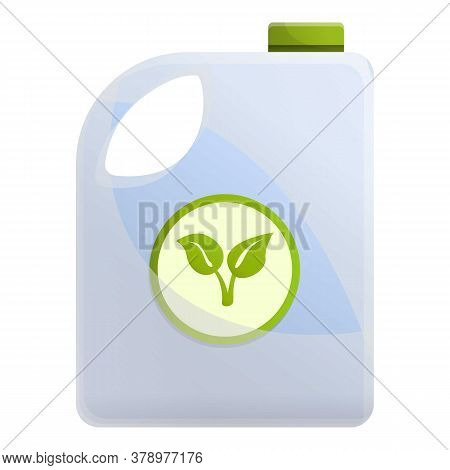 Fertilizer Ground Canister Icon. Cartoon Of Fertilizer Ground Canister Vector Icon For Web Design Is