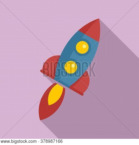 Power Rocket Innovation Icon. Flat Illustration Of Power Rocket Innovation Vector Icon For Web Desig