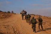 israeli soldiers attacks - war againist terror poster