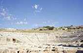 Greek theater Neapolis of Syracuse in Sicily - Italy poster