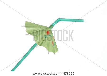 Green Drink Umbrella