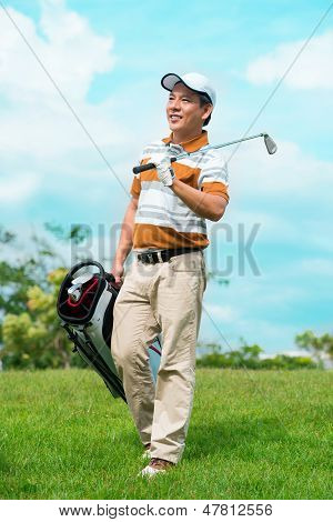 After Golfing