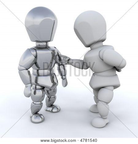 3D Men Talking