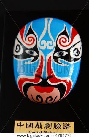 Facial Make-up Of Chinese Opera