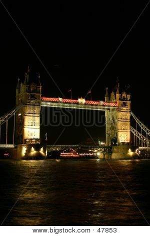 Tower Bridge At Night II