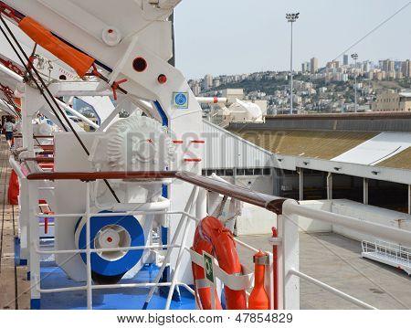 Port Haifa. Cruise Ship
