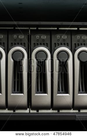Harddisk Rack And Computer Control