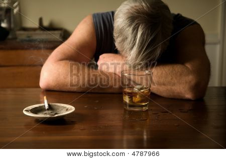 Lonely Drunken Man