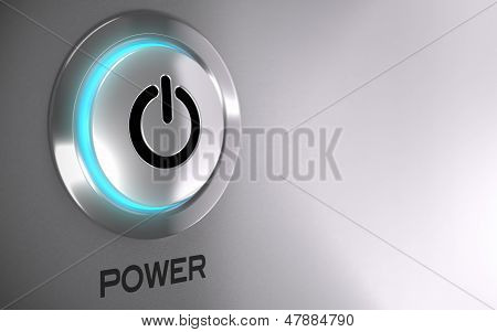 Power Push Button Activated