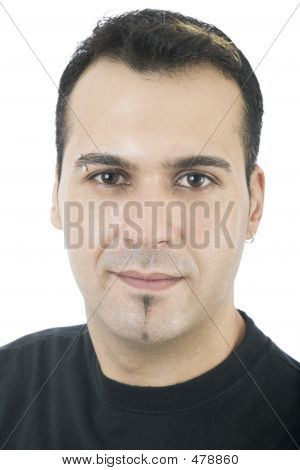Hispanic Male Portrait 1