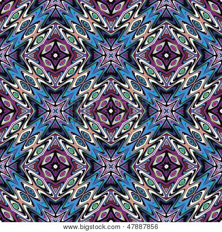 Textile design from Latin America