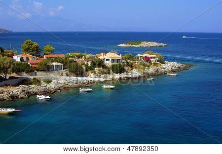 view to Cephalonia