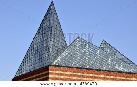 3 Pyramid Atrium