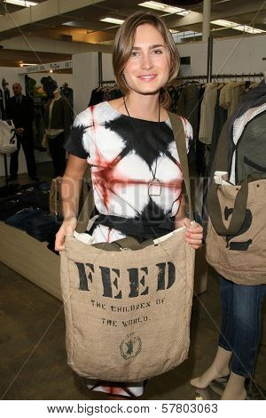 Lauren Bush niece of President George W. Bush  at the FEED LA Launch Party. Fred Segal, Santa Monica, CA. 03-12-09