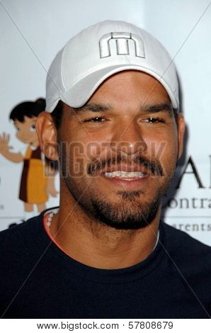 Amaury Nolasco  at the Padres Stand For Hope 5k Charity Run-Walk. Los Angeles Memorial Coliseum, Los Angeles, CA. 03-21-09
