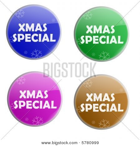Glossy Christmas Special Colorful