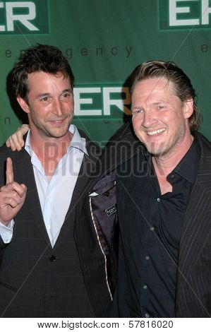 Noah Wyle and Donal Logue  at the Party Celebrating the series finale of the television show 'ER'. Social Hollywood, Hollywood, CA. 03-28-09
