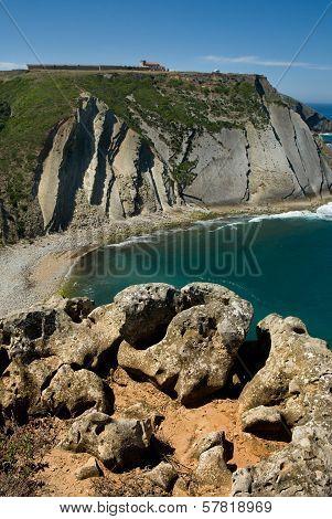 Cape Espichel Views Of Cliffs And Sanctuary
