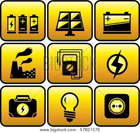industrial and electrical objects
