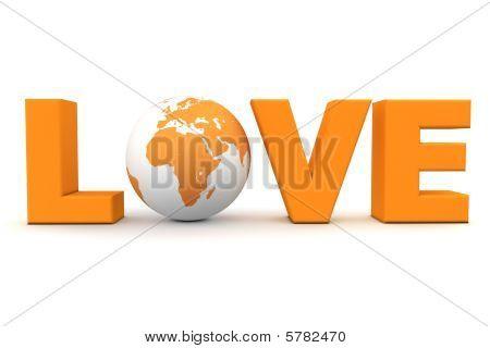 Amor mundo laranja
