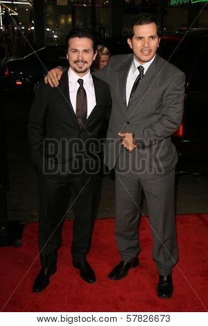Freddy Rodriguez and John Leguizamo  at the Los Angeles Premiere of 'Nothing Like The Holidays'. Grauman's Chinese Theater, Hollywood, CA. 12-03-08