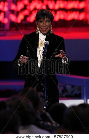 Natalie Cole   at the Debut of L.A. Live's 'Light of Angels'. L.A. Live, Los Angeles, CA. 12-04-08