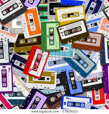 Seamless Cassette Tapes