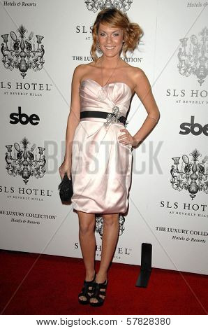 Jasmine Dustin   at the Grand Opening of SLS Hotel. SLS Hotel, Los Angeles, CA. 12-04-08
