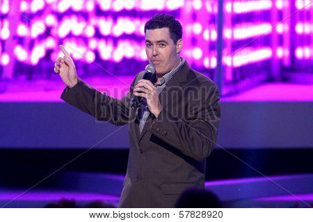 Adam Carolla   at the Debut of L.A. Live's 'Light of Angels'. L.A. Live, Los Angeles, CA. 12-04-08