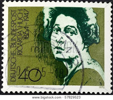 Ricarda Huch German Author