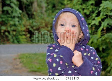 Toddler Surprised