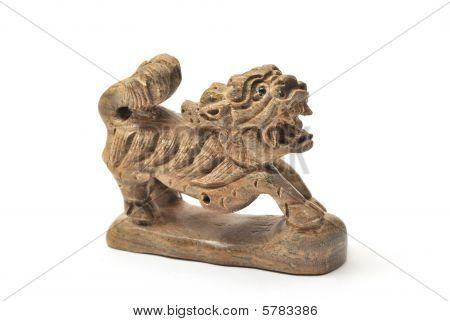Wooden Qilin