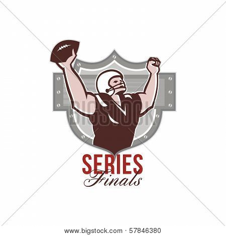 American Football Series Finals Retro