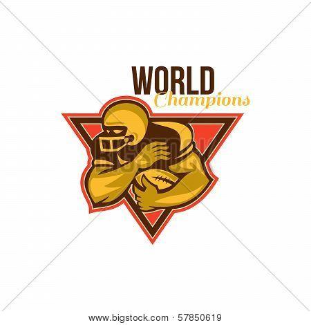 American Football Running Back World Champions