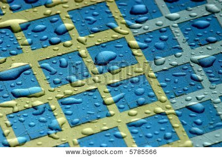 Water Droplets and Windows Abstract.