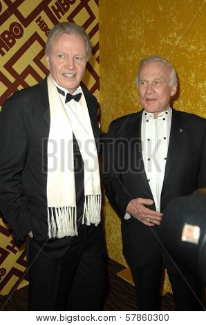 Jon Voight and Buzz Aldrin  at the HBO Golden Globe Awards After Party. Circa 55 Restaurant, Beverly Hills, CA. 01-11-09