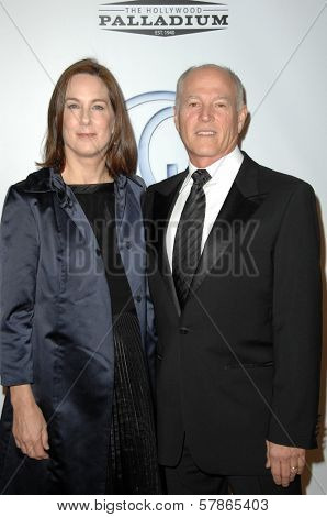 Kathleen Kennedy and Frank Marshall at the 20th Annual Producers Guild Awards. Hollywood Palladium, Hollywood, CA. 01-24-09