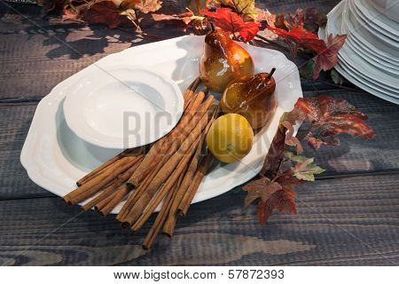 Detail Of Autumn Tableware At Homi, Home International Show In Milan, Italy