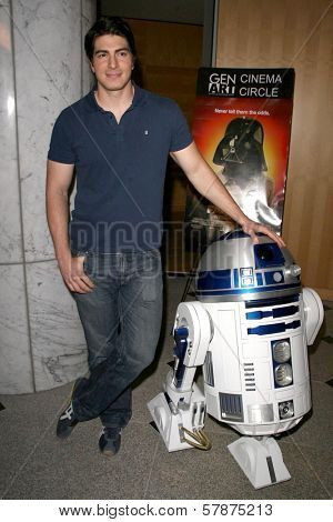 Brandon Routh at the Los Angeles Special Screening of 'Fanboys'. Clarity Screening Room, Beverly Hills, CA. 02-03-09