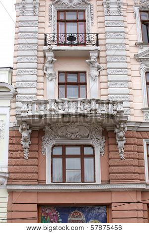 Art Noveau Building In Odessa