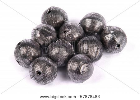 Fishing Sinkers In Weight Ten Gramme