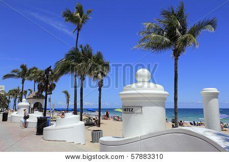 Cortez Street Beach Entrance