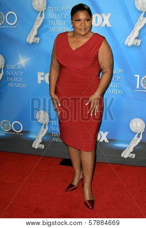 Mo'Nique at the 40th NAACP Image Awards. Shrine Auditorium, Los Angeles, CA. 02-12-09