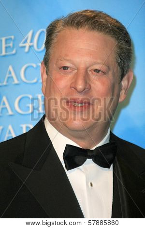 Al Gore  in the press room at the 40th NAACP Image Awards. Shrine Auditorium, Los Angeles, CA. 02-12-09