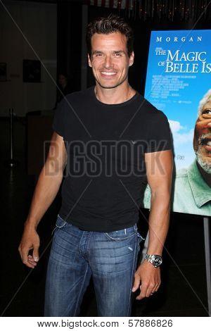 Antonio Sabato, Jr. at the Los Angeles Premiere of