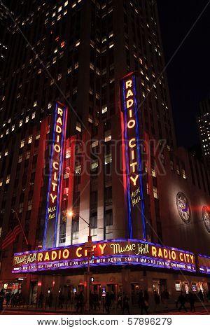 Corner Of Radio City Music Hall