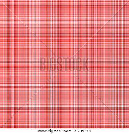 Red Tartan Cloth