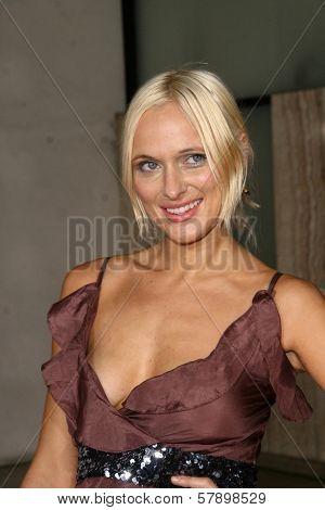 Dominika Wolski  at the Los Angeles Premiere of 'Rocknrolla'. Pacific Cinerama Dome, Hollywood, CA. 10-06-08